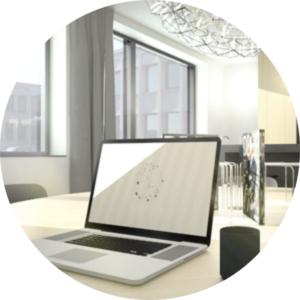 cirkel, our office, ouroffice, indretning, fællesskab, kontorfællesskab